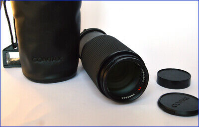CARL ZEISS VARIO-SONNAR 4/80-200 T* MMJ pour CONTAX/YASHICA NEAR NEW CONDITION