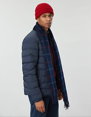 Joules Mens Bamburgh Knitted Hat - DEEP RED in One Size