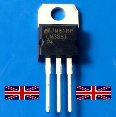 LM338T TO-220 Adjustable Voltage Regulator from National Semiconductor