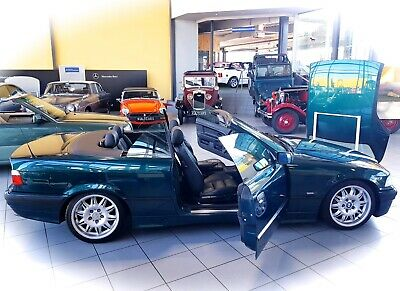 *PRIMA EYE CATCHER* BMW 320i Cabrio e36 Roadster Youngtimer Heritage Motors