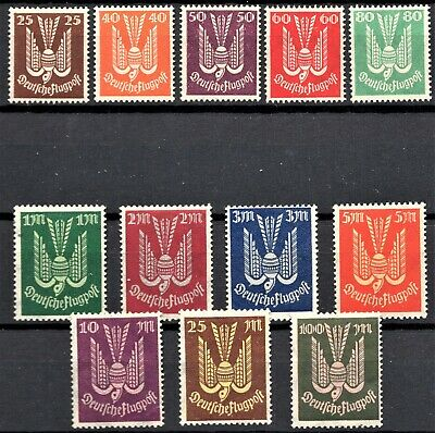 Germany - 1922/23 Wood Pigeons - Full Sets - Mint Never Hinged - Scan + Pic
