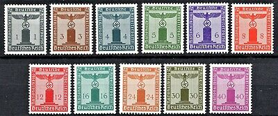 GERMANY 1942 PARTY OFFICIALS [NO Wmk] - FULL SET - MINT NEVER HINGED**