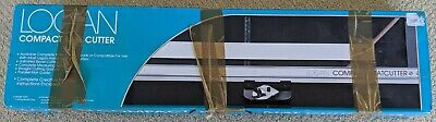 Logan 301-S Compact Mat Cutter w straight and bevel cutter and instructions