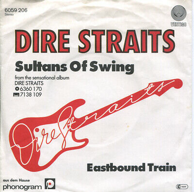 """Dire Straits GER 7"""" Single w pic/slv """"Sultans Of Swing"""""""