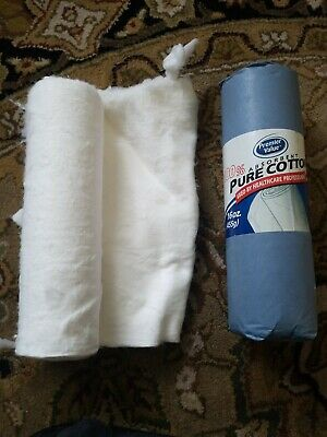 Covidien Curity Cotton Roll 1lb  12.5X56 Practical Bleached New Lot of 14