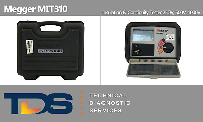 [USED] Megger MIT310 Insulation & Continuity Tester + NIST Traceable Calibration