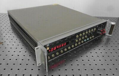 G166894 Rack Mount HP 3455A Digital Voltmeter