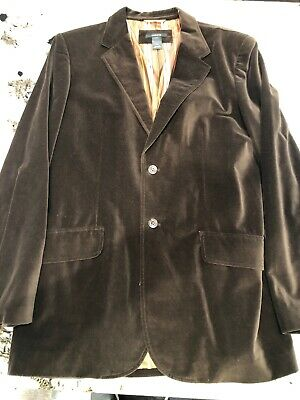 Claiborne Sport Coat Size 42L Brown With 3 Buttons