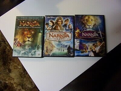 Narnia 1/2/3  The Trilogy  Dvd Lot Of 3  Special Sale