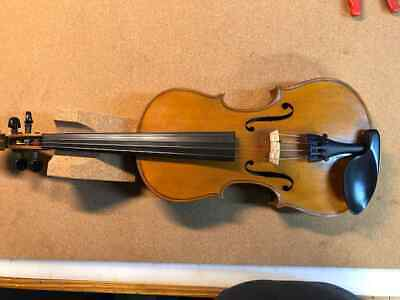 Handmade German Stradivarius Copy Violin Mid 1960s Maple