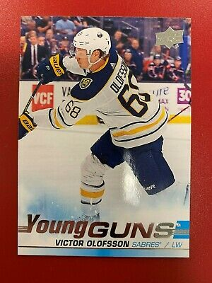 2019-20 Upper Deck Series 1 Hockey YOUNG GUNS 207 VICTOR OLOFSSON BUFFALO SABRES