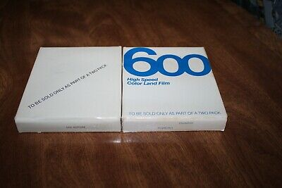 2. New Sealed Polaroid 600 Instant Film 10 Photos Pack