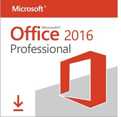 Microsoft office 2016 professional Plus 32/64bit Key Code  Instant Delivery