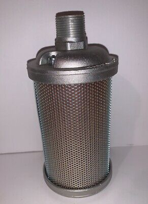 New In Box Alwitco 0112007 Vacuum Muffler Male NPT V07