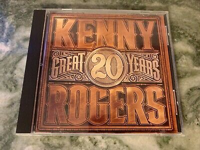 MINT! Kenny Rogers 20 Great Years USA REPRISE GREATEST HITS CD GAMBLER