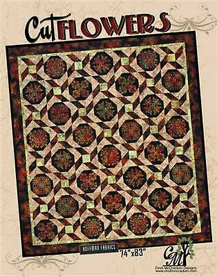 Cut Flowers Quilt Pattern by Cindi McCracken