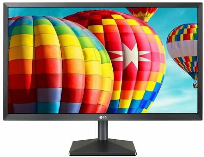 "LG 22"" Inch LCD/LED Computer Monitor Display FHD 1080P VGA/HDMI 22MK400H-B *NEW*"