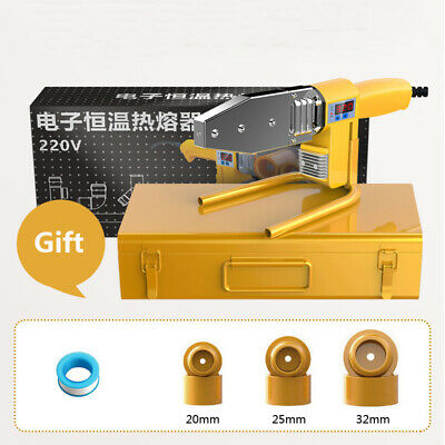 Digital Display Electric Welding Tool Heating Pipe Welding Machine PPR Tube