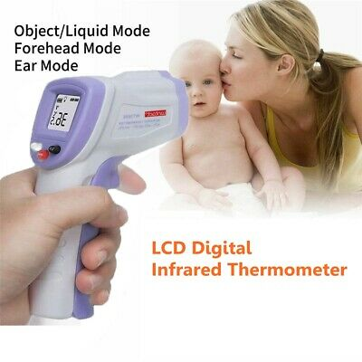 LCD Digital Non-contact IR Infrared Thermometer Forehead Body Temperature Tools
