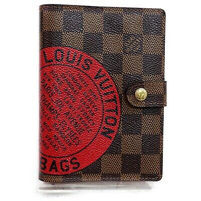 Louis Vuitton Diary Cover Agenda PMDamier Day Planner Cover R21040 822193