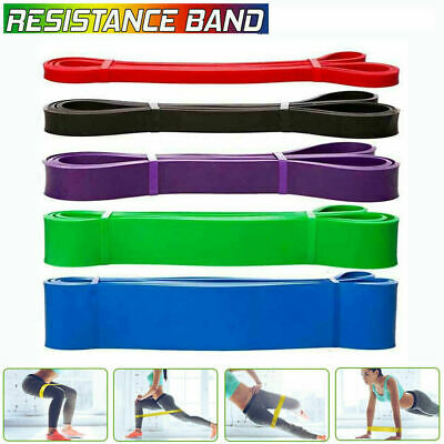 Exercise Bands Gym Latex Resistance Elastic Band Pull Up Assist Bands Fitness