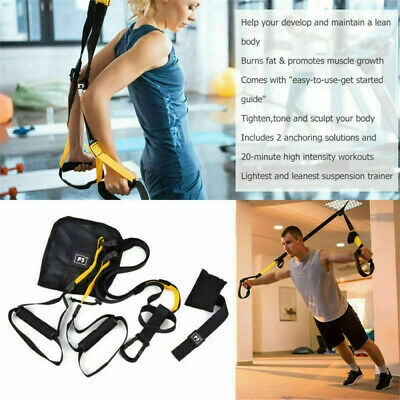 Arm Resistance Trainer Bodyweight Fitness Kit With Pro Straps For Body Workouts