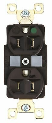Bryant 15,  Heavy Use Hospital Grade,  Receptacle,  Brown,  No Tamper Resistant