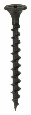 "Fabory 2"" Steel Drywall Screws with Flat Countersunk Head Type; PK200 #8 Steel"