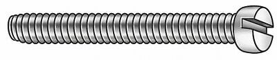 Fabory #2-56 Machine Screw,  Fillister,  Slotted,  18-8 (304) Stainless Steel,