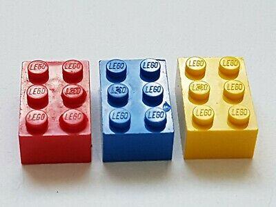 Genuine Lego Spare Parts Red Blue Yellow Building Toy Construction Bricks