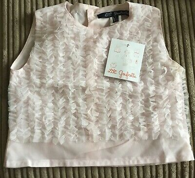 Brand New With Tags Girls Lili Gaufrette Top Age 4 years