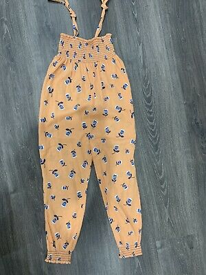 Girls Country Road Boho Jumpsuit Size 7 AS NEW