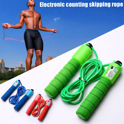 Skipping Rope with Counter Sports Fitness Adjustable Fast Speed Jump Rop Fitness