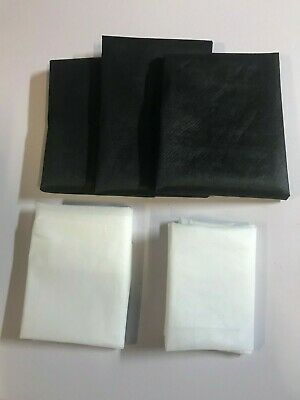 5 Pieces Of Assorted  Birch  Iron On / Sew On Interfacing