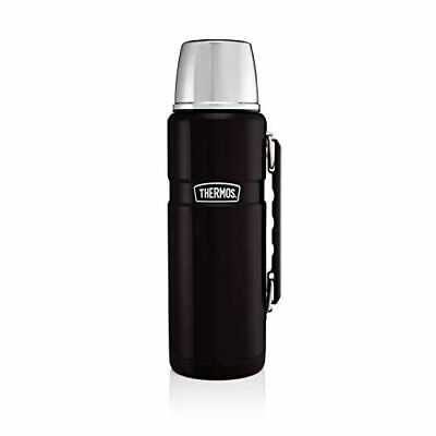 [ozl] Thermos in Acciaio Inossidabile Re Flask - Matt Black (1200 ml)