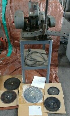AEROQUIP HYDRAULIC HOSE CUT OFF SAW for Gates Parker Pipe saw, Skivving machine
