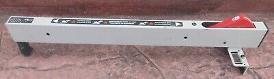 """Porter Cable 10"""" Portable Table Saw Model PCX362010 Rip Fence tools"""