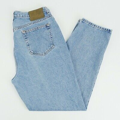 Vintage Calvin Klein Jeans Womens 16 Blue Easy Fit High Rise Stone Wash Jeans