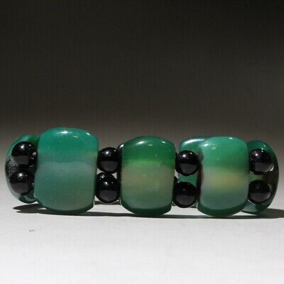Collectable China Hand-Carved Old Jade Auspicious Noble Delicate Hand Catenary