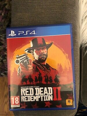 Red Dead Redemption 2 PS4 including map