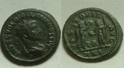 Rare Genuine ancient Roman coin Diocletian Jupiter Victory Antoninianus 293 AD