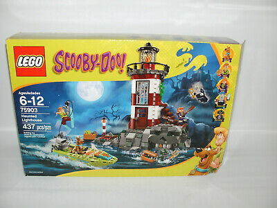New Lego Scooby Doo Original Unused Sticker Sheet from Haunted Lighthouse 75903
