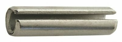 """Driv-lok Stainless Steel Slotted Spring Pin, 1-5/8"""" L, Passivated Fastener"""