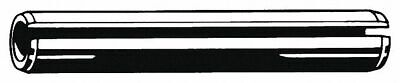 """Fabory Steel Slotted Spring Pin, 3-1/2"""" L, Plain Fastener Finish"""