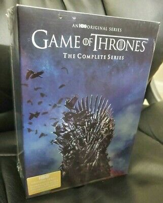 Game of Thrones: The Complete Seasons 1-8 (DVD, 38 Disc Box Set) NEW & SEALED