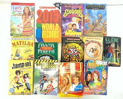 Lot of 10 Children's Kids Chapter Books Unsorted