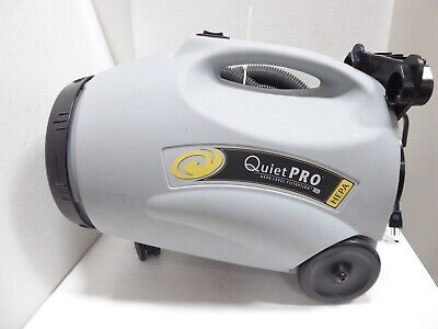 Protean Quiet Pro Model Qpcn-100 Vacuum Cleaner Hepa Level Filtration W/Hose