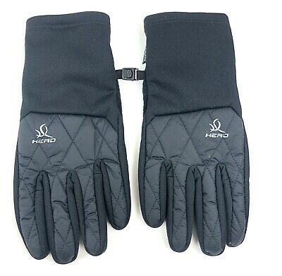 HEAD Sensatec Women's Touchscreen Running Gloves Black Small Pre-Owned