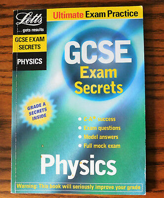 GCSE Exam Secrets Physics school science revision practice book Letts study