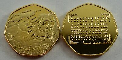Middle Earth /& Rune Translator collectable for 50p collectors coin hunt Tolkien